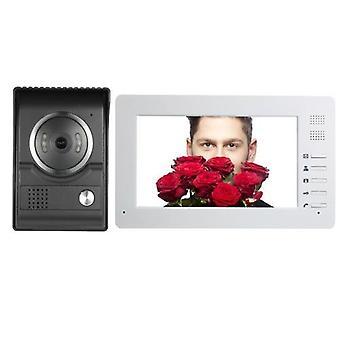 7inch TFT-LCD Värinäyttö Wird Video Ovi Puhelin