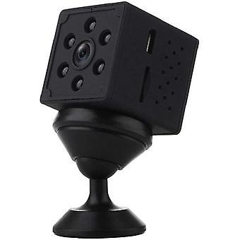 كاميرا تجسس مصغرة للداخلية في الهواء الطلق كاميرا الكشف عن الحركة رؤية ليلية صغيرة Q15 HD الكاميرا (أسود)