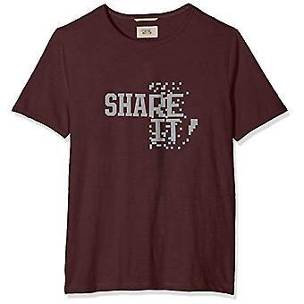 camel active T-Shirt 1/2, Paars, Klein (Fabrikant Maat:) Man.