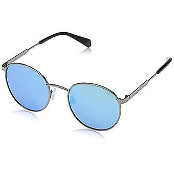 Polaroid PLD 2053/S Ex 010 51 Sonnenbrille, Silber (Palladium/Greyslv FL Pz), Unisex-Erwachsene