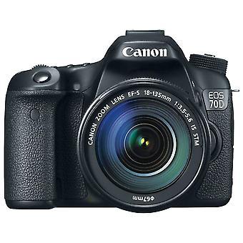 Canon Eos 70D Kit 18-135mm Stm DigitalKamera