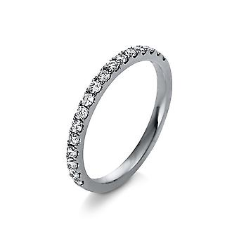 Luna Creation Promessa Ring Memoire half 1R380W456-1 - Ancho del anillo: 56