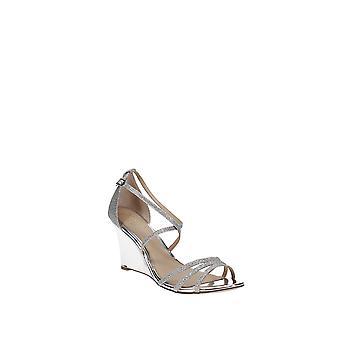 Jewel by Badgley Mischka | Hunt Evening Wedge Sandals