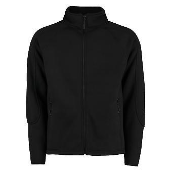 Kustom Kit Mens Zip Up Knitted Fleece