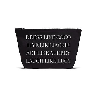 Los Angeles Trading Co. 'Dress Like Coco...' Designer Black Pouch
