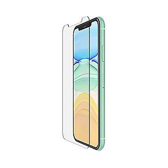 Belkin iPhone 11 Screen Protector TemperedGlass Anti-Microbial (Avanceret beskyttelse plus reducerer bakterier på skærmen op til 99 procent)