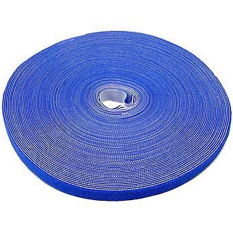 LTC pro ρολό καλώδιο διαχείρισης γάντζο και ταινία βρόχου (μπλε)