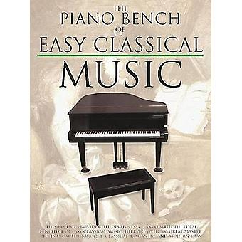 The Piano Bench of Easy Classical Music by Edited by Amy Appleby