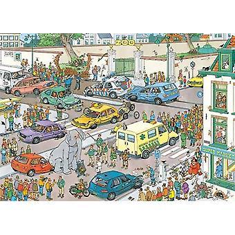 Jan Van Haasteren Jumbo va a fare shopping Puzzle Puzzle (1000 pezzi)