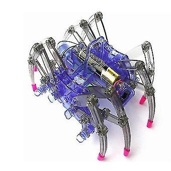 Diy العنكبوت روبوت عدة تجميع التحكم عن بعد العنكبوت Diy بناء عدة Stem Toys لهدايا الأطفال