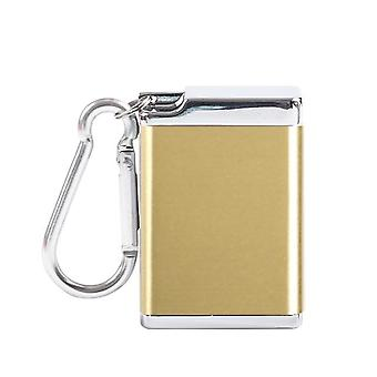 Mode draagbare mini asbak met deksel sleutelhanger pocket reizen asbak sigaret metalen fles