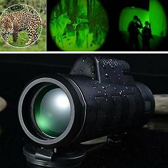 Venkovní vysoce výkonná lovná 40x60 dalekohledy W / Noční vidění Hranolový dalekohled
