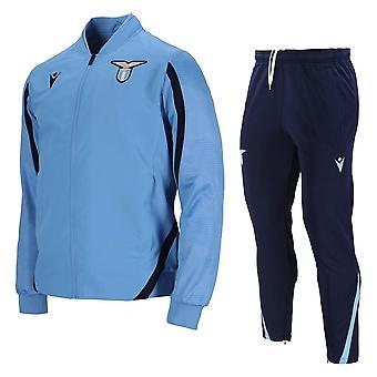 2021-2022 لاتسيو مايكروفير بدلة رياضية (الأزرق)