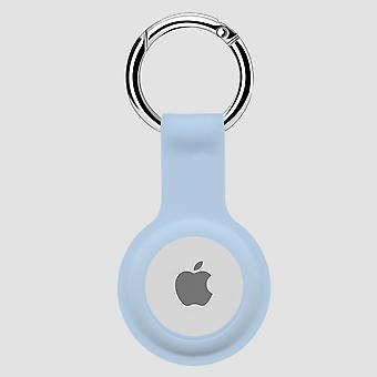 Protective cover silicone case for airtag  - light blue