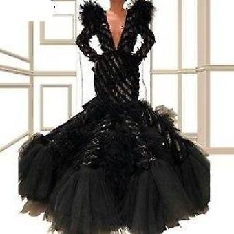 Mermaid Long Formal Evening Dress Deep V-neck Prom Party Gowns ( Set 1)
