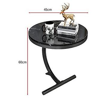 Luksus Marmor Sofa sidebord hjørnebord stue sofa ende natbord