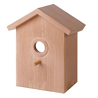 Outdoor Bird Nests Garden Decoration Supplies Window Wooden Bird Cages Nests Box Home House