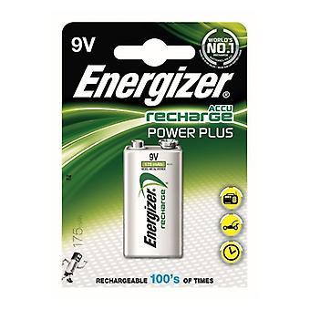 Rechargeable Batteries Energizer 5222-1 9 V HR22 175 mAh