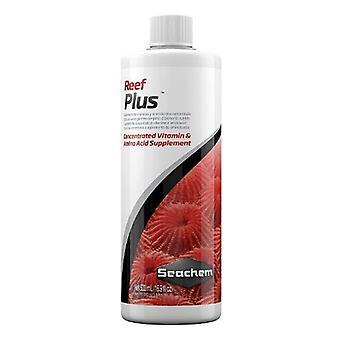 Seachem Reef Plus Concentrated Vitamin & Amino Acid Supplement - 17 oz