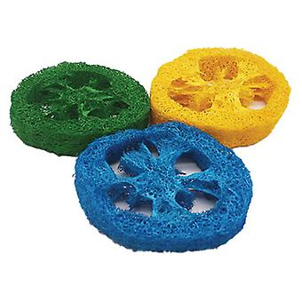 AE Cage Company Nibbles Loofah Slice Chew - 3 count