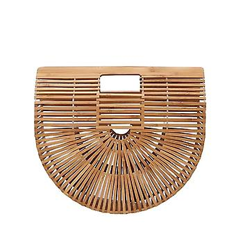 Damska bambusowa torba plażowa, torebka vintage, damska torba, luksusowe torebki, wieczorek damski