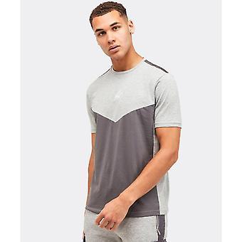 Kings will dream axel t-shirt - grey marl