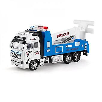 Diecast metal realistic rescue truck toy mz980