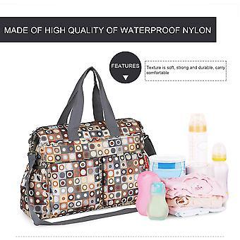 Insular Waterproof Baby Stroller Bag Shoulder Bag Maternity Handbag Baby Bag