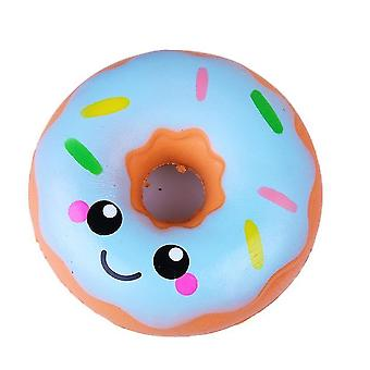 Squishy Smiley Donut Simulering Pu Slowspring Leksak Stress Reliever