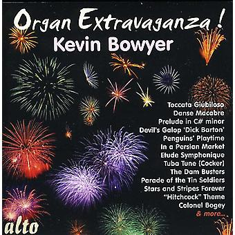 Kevin Bowyer - Organ Extravaganza! [CD] USA import