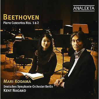 L.V. Beethoven - Beethoven: Piano Concertos Nos. 1 & 2 [CD] USA import