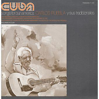 Carlos Puebla - Cuba: Songs for Our America [CD] USA import