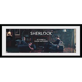 Sherlock Rising Tide Framed Collector Print