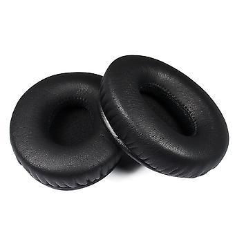 REYTID Replacement Black Ear Pad Cushion Kit Compatible with Beats By Dr. Dre Solo / Solo HD Headphones
