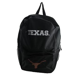 Officially Licensed NCAA University of Texas Longhorns Black Canvas Backpack