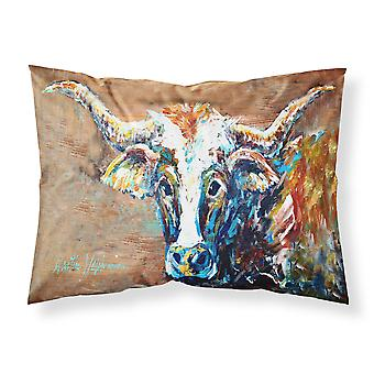 On the Loose Brown Cow Moisture wicking Fabric standard pillowcase