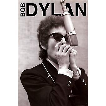 Bob Dylan - munspel affisch affisch Skriv