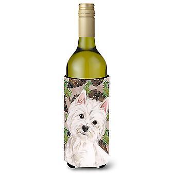 Westie pinhas vinho garrafa Beverge isolador Hugger