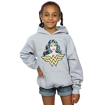 DC Comics Girls Wonder Woman Gaze Hoodie