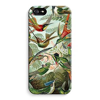 iPhone 5 / 5 sek / SE Full Print saken (glanset) - Haeckel Trochilidae