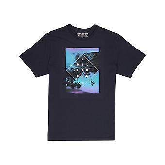 Billabong Cross Section Short Sleeve T-Shirt in Navy