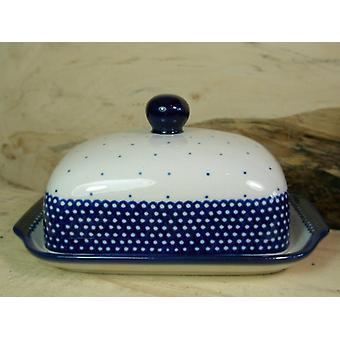 Smør fad, 250 g, 18 - Unikat polsk keramik - BSN 20954