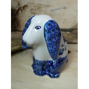 Seduta del cane, 11 x 11 x 7,5 cm, 9 - tradizionale polacco ceramiche - BSN 8008