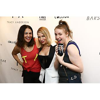 Jennifer Konner Tracy Anderson Lena Dunham Gwyneth Paltrow At Arrivals For Tracy Anderson Flagship Studio Opening Party 241 East 59Th Street New York Ny March 15 2017 Photo By John NacionEverett Colle