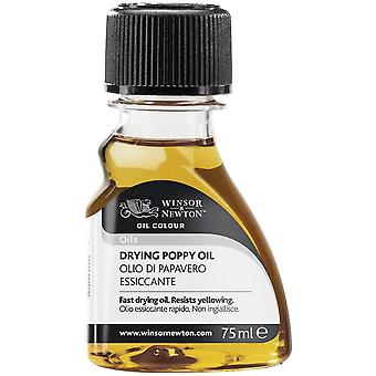 Winsor & Newton Drying Poppy Oil for Oil Painting 75ml