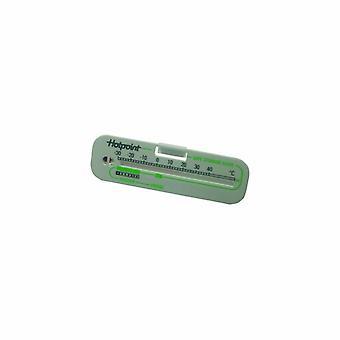 Indesit køleskab termometer