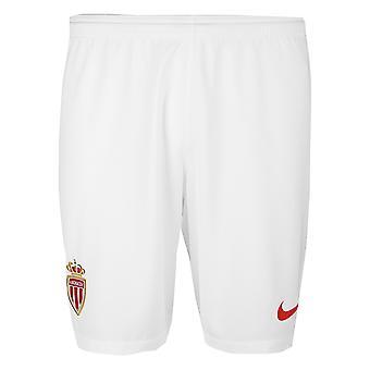 2018-2019 Monaco hem Shorts Nike fotboll (Kids)