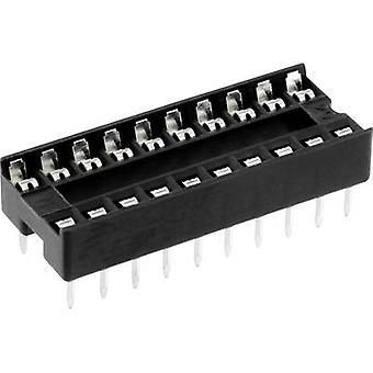 ECON connecter espacement de ICF 20 IC socket Contact : 7,62 mm nombre de broches : 20 1 PC (s)