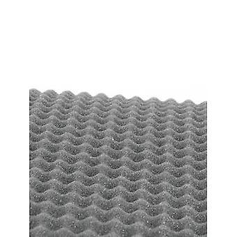 80702640 Hoparlör kapaklı kumaş (L x W x H) 200 x 100 x 2 cm Poliüretan