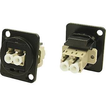 XLR adapter LC DUPLEX MM adapter, ingebouwd CP30214MB Cliff inhoud: 1 PC (s)